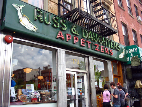 Russ & Daughters - Shopping - 179 E Houston St, New York, NY, United States