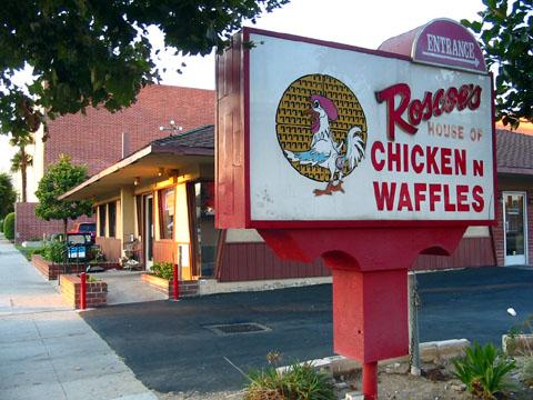 Chicken & Waffles - YUMMMY!